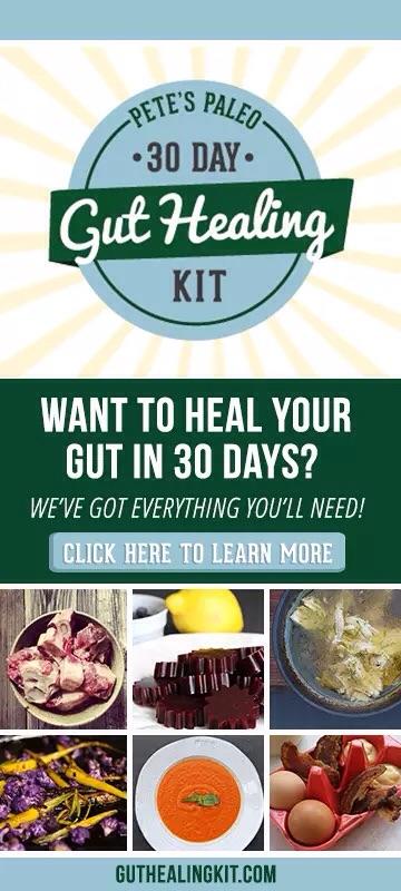 Pete's Paleo 30 Day Gut Healing Kit