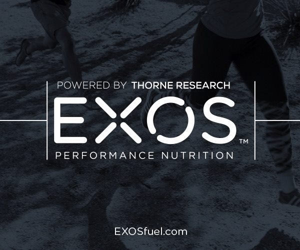 EXOS Performance Nutrition Powered by Thorne Research