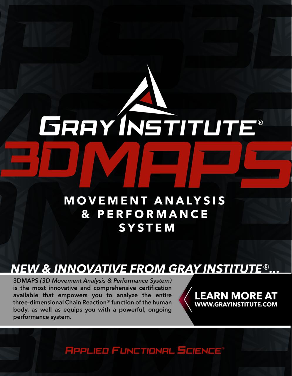 3DMAPS (3D Movement Analysis & Performance System)