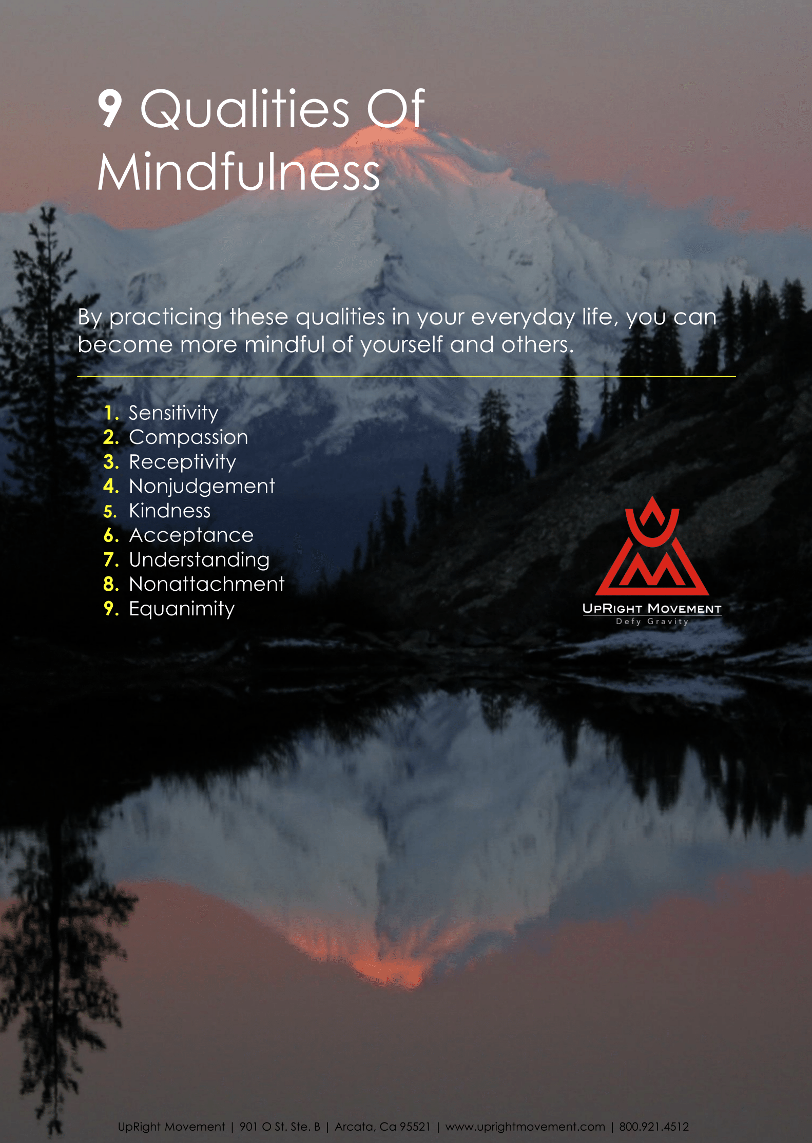 UpRight Movement MINDFULNESS