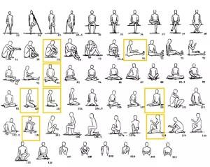 Multiple Primitive Postures