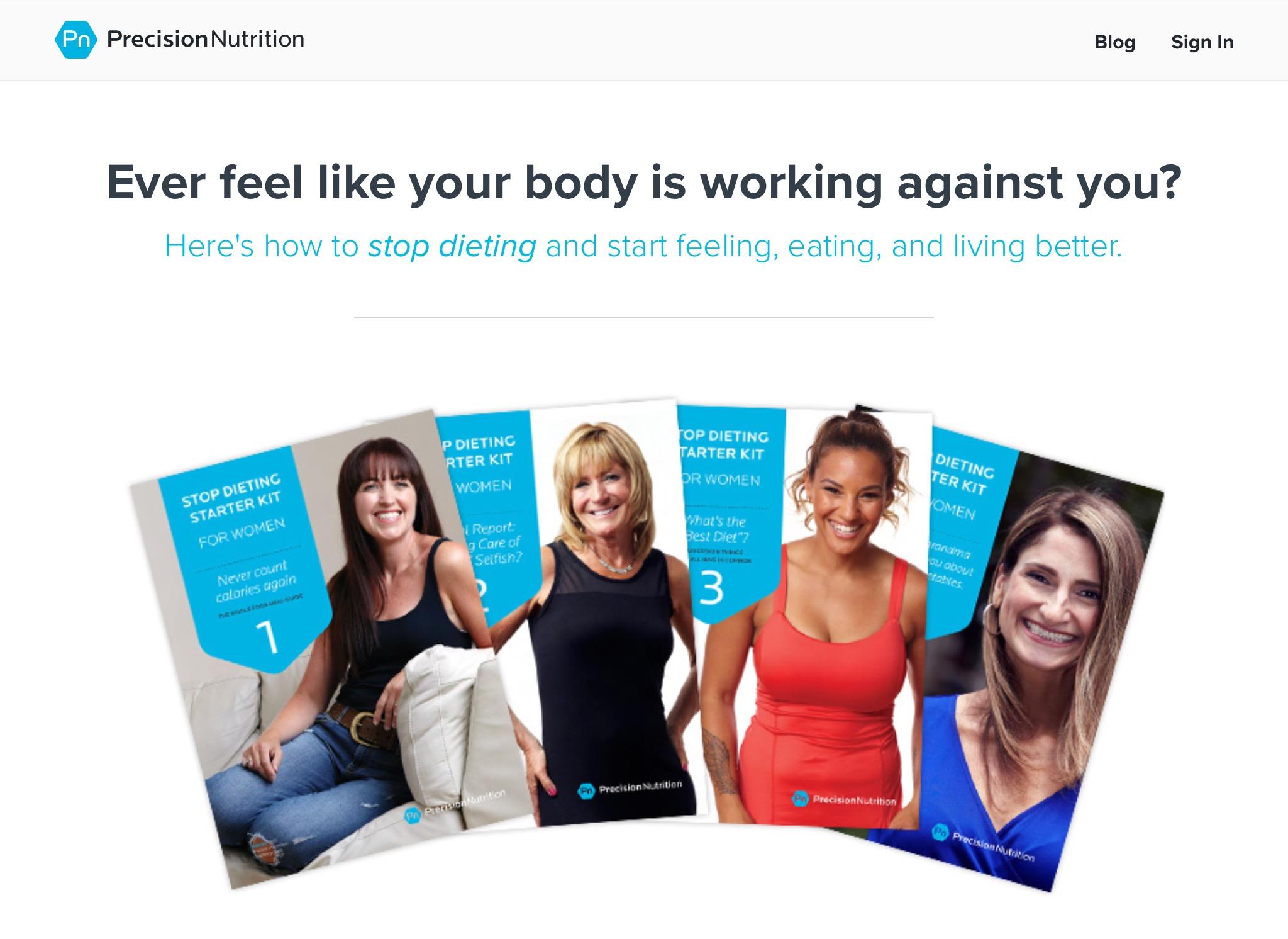 Precision Nutrition Women