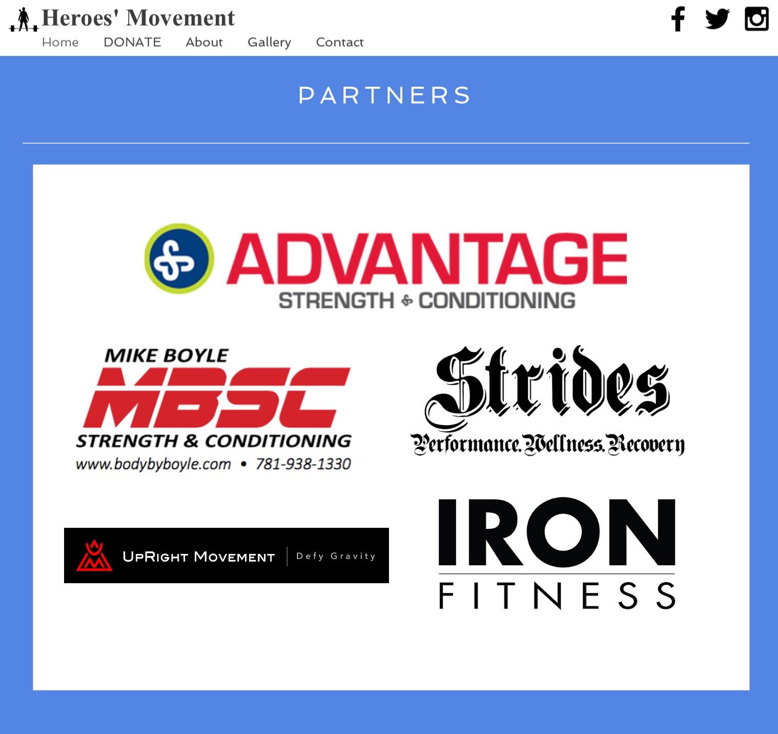 Heroes' Movement Partner
