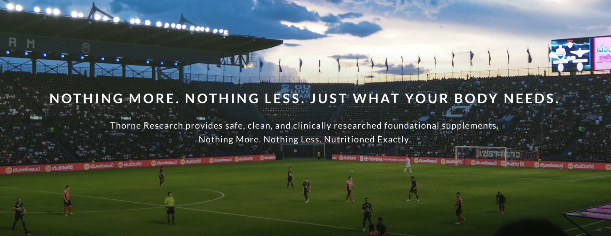 THORNE RESEARCH: Sports Performance